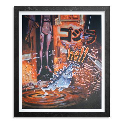 Glenn Barr Art Print - Godzilla's Ghost - Limited Edition Prints