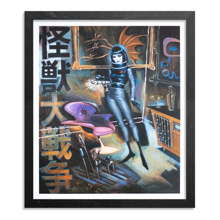 Glenn Barr Art Print - Monster Zero - Limited Edition Prints