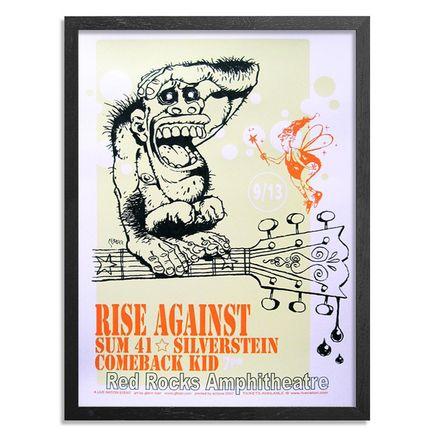 Glenn Barr Art Print - Rise Against Poster