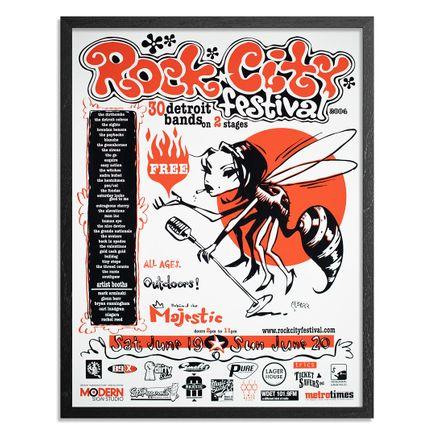 Glenn Barr Art Print - Rock City Festival - Limited Edition Prints