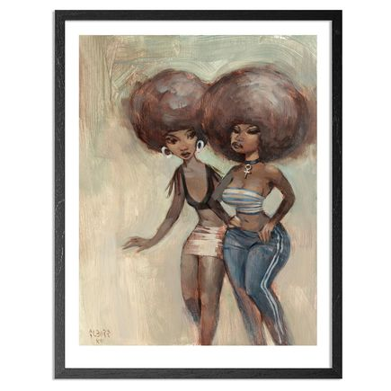 Glenn Barr Art Print - Rumors - Limited Edition Prints