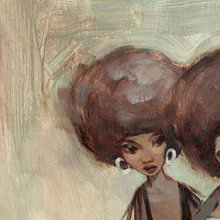 Glenn Barr Art Print - Rumors - Canvas Edition