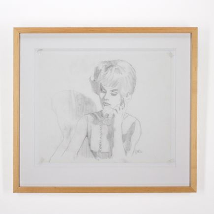 Glenn Barr Original Art - Desk Study