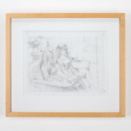 Glenn Barr Original Art - Tuesday Study