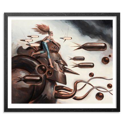 Glenn Barr Art Print - T28 Recommissioned