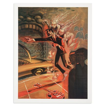 Glenn Barr Art Print - - The Furies -