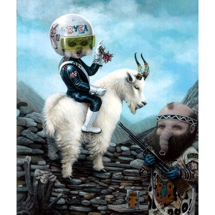 Matt Gordon Art Print - Mountain High