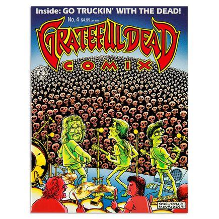 Shelton/Mavrides Art - Grateful Dead Comix #4