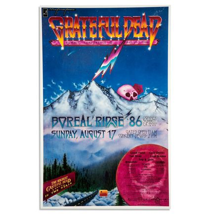 Sun Graphics Art - Grateful Dead: Summit Conference II