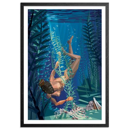 Naturel Art - Deep Sea Diva - Framed