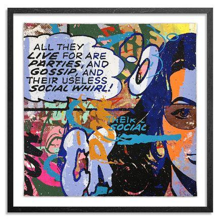 Greg Gossel Hand-painted Multiple - Parties & Gossip 23