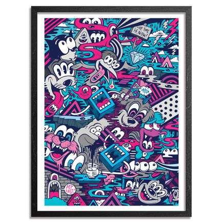 Greg Mike Art - Act Fast - Framed