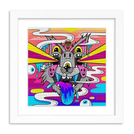 Greg Mike Art Print - Nine Lives To Live - Blotter Edition