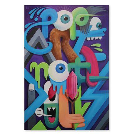Greg Mike Original Art - Pop Art Not Pills