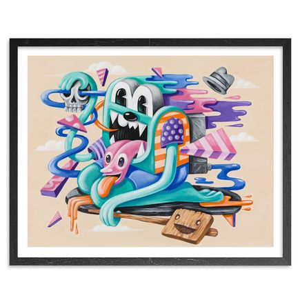 Greg Mike Art Print - Time Flies - Limited Edition Prints