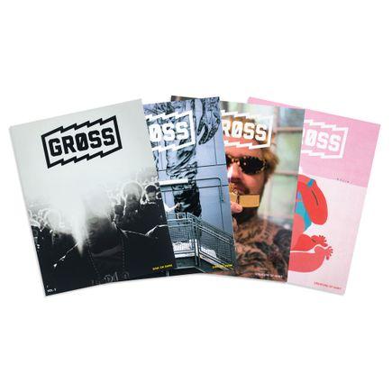 Gross Magazine Book - 4-Volume Set - Vol 2. + Vol. 3 - All Editions