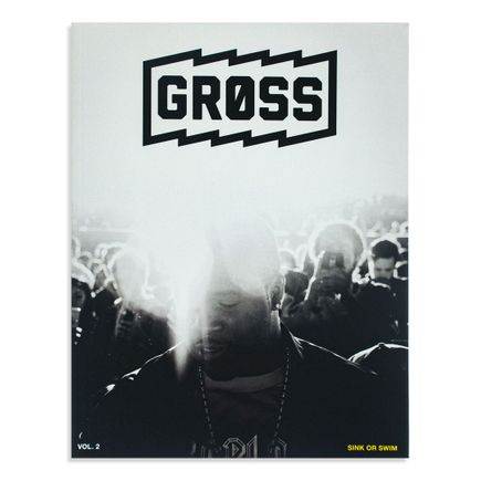 Gross Magazine Book - Vol 2: Sink Or Swim - A$AP Ferg by Adam DeGross Edition