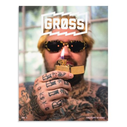Gross Magazine Book - Vol 3: Creature Of Habit - Matty Matheson by Pat O'Rourke Edition