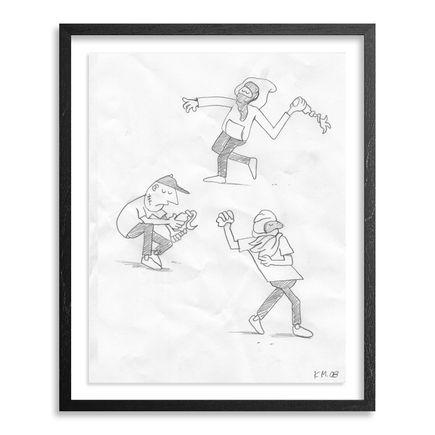 Grotesk Original Art - Riots! - Sketch 04