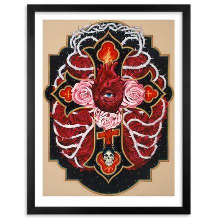 Gustavo Rimada Art Print - Cruz de Cristo