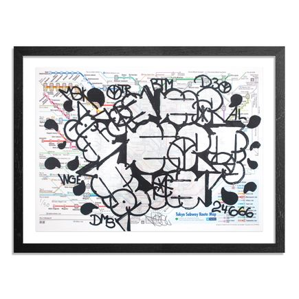 Hael Art - Tokyo Subway Map - Roppongi Edition