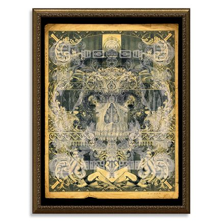 Handiedan Art Print - Atrium - Mother Of Pearl Edition