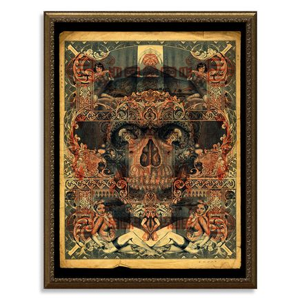 Handiedan Art Print - Atrium - Red Edition