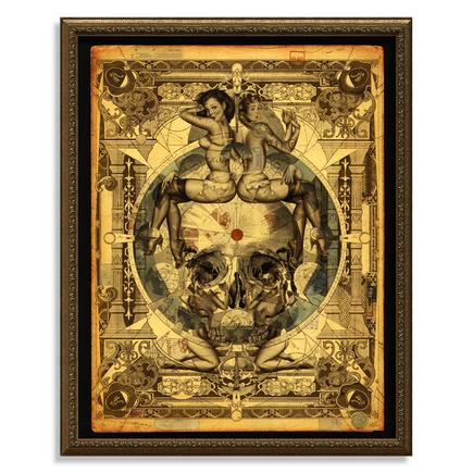 Handiedan Art Print - Parallax - 22 x 28 Hand-Embellished Edition