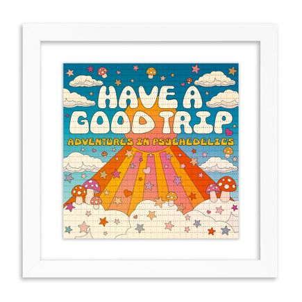 Have A Good Trip Art Print - Adventures In Psychedelics - Blotter Edition