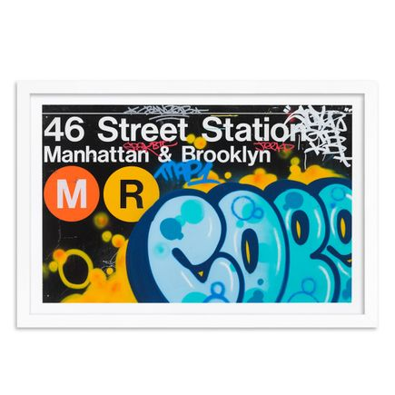 Cope2 Art Print - Hand-Embellished Edition - 46th Street Station - Limited Edition Prints
