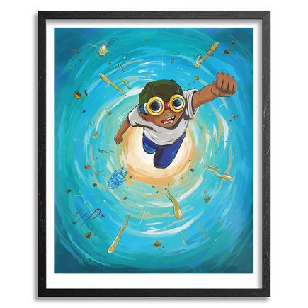 Hebru Brantley Art Print - Back In Time