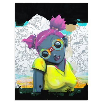 Hebru Brantley Original Art - No Gardens Pt. 2