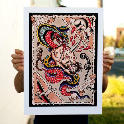 Mark Heggie Art Print - Piensa En Mi (Think Of Me)