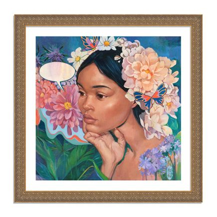 Helice Wen Art Print - A Garden Within - Hand-Embellished Edition
