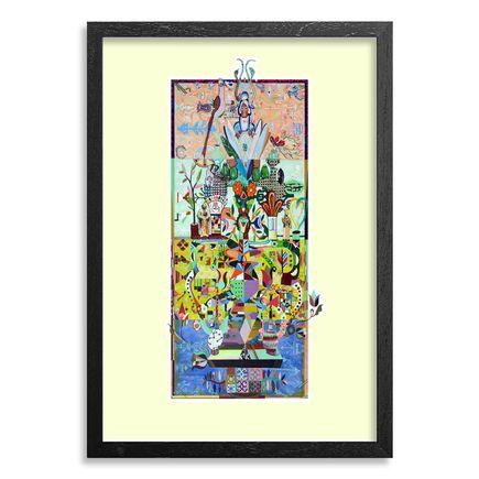 The Heliotrope Foundation Art Print - Cuatro Espiritu - Arbol de la Vida