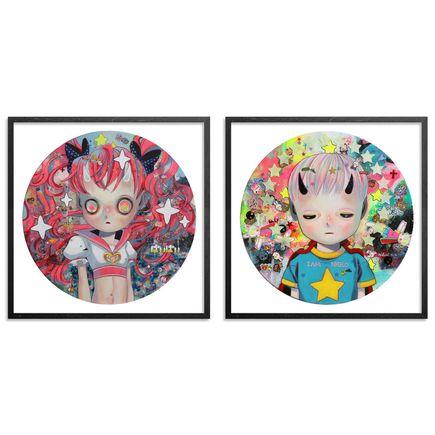 Hikari Shimoda Art Print - Solitary Child 1 & 3 - Two Print Set
