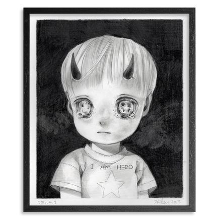 Hikari Shimoda Original Art - Untitled Exclusive 01 - Original Sketch