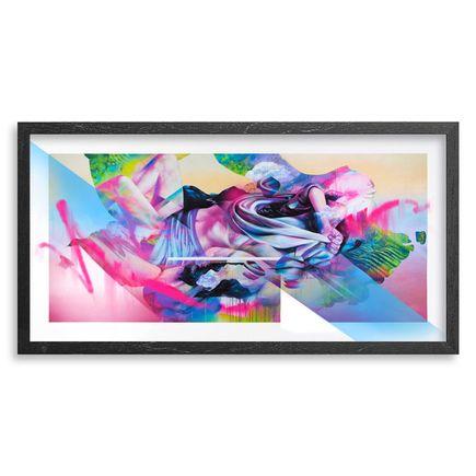 Hueman Art Print - Flying Through The Final Stretch