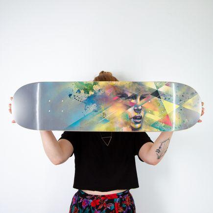 Hueman Art Print - Clouded Judgment - Skate Day Variant