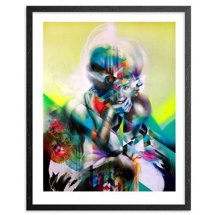 Hueman Art Print - Split Decision