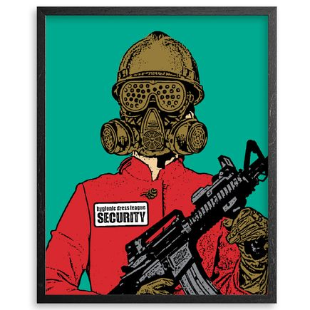 Hygienic Dress League Art - Female Security - Framed