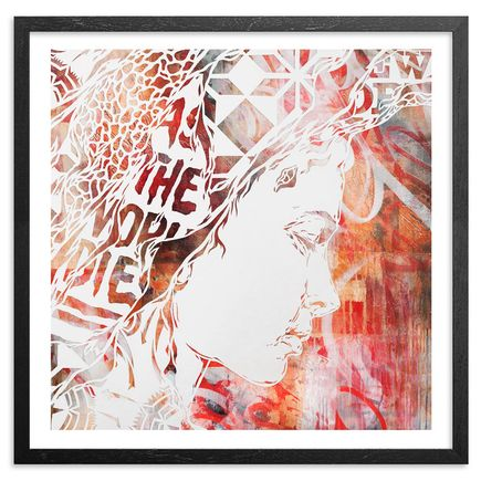 Ian Kuali'i Art Print - As The World Dies - Standard Edition