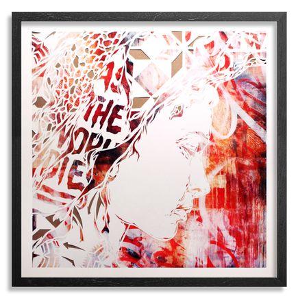 Ian Kuali'i Art Print - As The World Dies - Hand-Embellished Edition