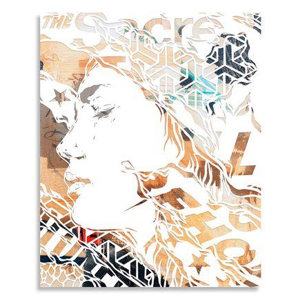 Ian Kuali'i Original Art - To Behold - Handcut Multiple