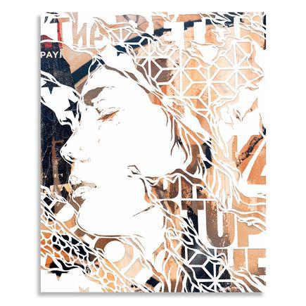 Ian Kuali'i Original Art - The Return To Self - Handcut Multiple