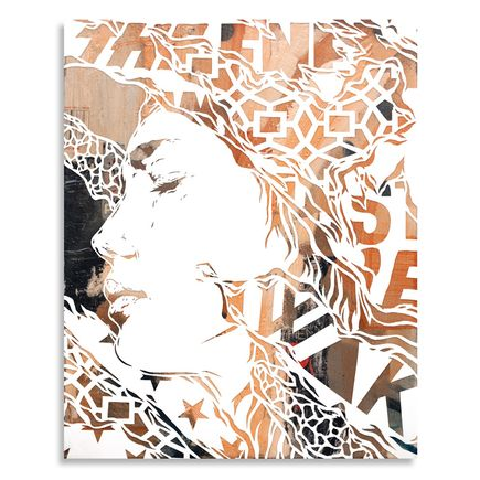 Ian Kuali'i Original Art - To Awaken - Handcut Multiple