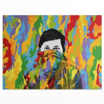 Icy & Sot Original Art - Rebel Kid - Original Artwork