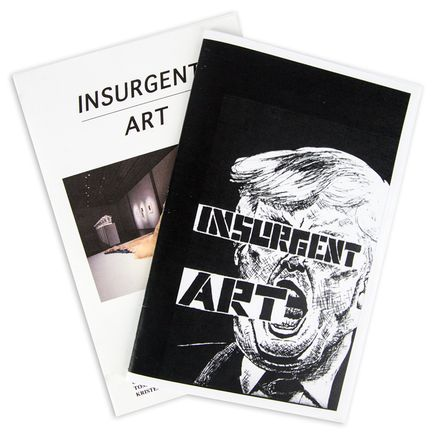 Constant Williams Book - Insurgent Art 1 + 2 Zine Set - Signed