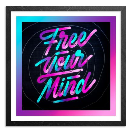 It's A Living Art Print - Free Your Mind - Limited Edition Prints