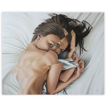 James Bullough Original Art - And At No Time Did She Ever Leave My Mind